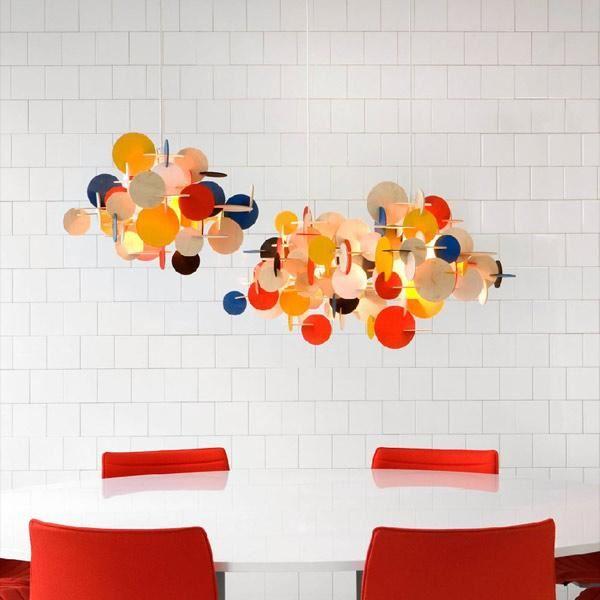 normann copenhagen bau multifarvet pendel lille fri fragt. Black Bedroom Furniture Sets. Home Design Ideas